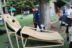 PZ20160513-017.jpg (Menlo Photo Bank) Tags: ca people usa game boys students us spring quad science event smallgroup atherton 2016 engaging upperschool makerfaire menloschool photobypetezivkov appliedscienceresearch
