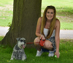 DSC_7534.jpg (littlestschnauzer) Tags: daughter bex rebecca dogs pets pet dog miniature schnauzer mini outdoors ysp summer june 2016 walkies family nikon d7200