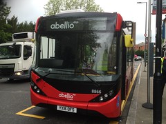 If Abellio Are Out Of Blinds, This Will Be The Future (LBOTG) Tags: bus london major model single change alexander dennis hayes mmc e7 e200 ealing enviro londonbus decker adl ofs 8866 alexanderdennis singledecker abellio enviro200 abelliolondon yx16 majormodelchange enviro200mmc e200mmc yx16ofs