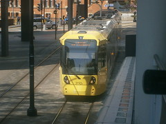 3110 @ Piccadilly (ianjpoole) Tags: manchester piccadilly metrolink approaching 3110