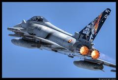 Eurofighter (2016) (Ismael Jorda) Tags: fighter aviation military eurofighter afterburner spanishairforce 142sqn