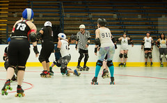 IMG_0411 (clay53012) Tags: ice team track flat arena madison skate roller jam derby league jammer mrd bout flat wftda derby womens track hartmeyer moocon2016