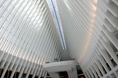 NYC: World Trade Center Transportation Hub (wallyg) Tags: nyc newyorkcity ny newyork downtown path manhattan worldtradecenter financialdistrict wtc gothamist oculus santiagocalatrava pathstation fidi worldtradecenterpathstation worldtradecenterstation worldtradecentertransportationhub