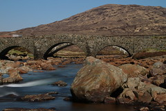 The Sligachan bridge (laurence.leris) Tags: longexposure highlands skye scoland nd water