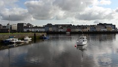 The Long Walk. (mcginley2012) Tags: thelongwalk claddagh galway water reflections boats pier urban buoy quayside