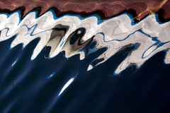 End of the water line... (modestino68) Tags: sea water mare acqua riflessi lilium reflects