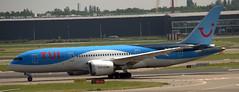 Boeing 787-8 PH-TFL (707-348C) Tags: amsterdam schiphol ams eham boeing787 b788 boeing airliner jetliner klmroyaldutchairlines klm dreamliner passenger phtfl arkefly tfl tui