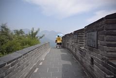 Muraille de Chine (Stefan Bodar) Tags: voyage china travel art de grande photo nikon raw beijing stefan asie badaling chine muraille parapluie artistique pkin ombrelle bodar