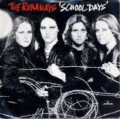 The Runaways - School Days (Betapix) Tags: school picture days 45 cover single record runaways the