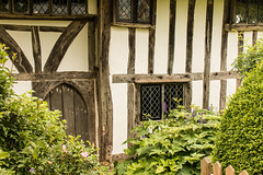 Clergy House, Alfriston (Keith in Exeter) Tags: cottage house priest clergy old wall door window leaded arch timber alfriston polegate east sussex nationaltrust nationalpark southdowns heritage building architecture garden england english gb uk europe tourism