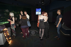 AQUEERium20160626_156sm (DawnOne) Tags: gay party fish toronto men water glitter aquarium rainbow women dj ray tube australian young ripleys kitty pride lgbt mermaids virago sharks local rays judy trans mermaid facepaint superstar tanks transsexual sapphire reign 2016 transsexuals cownose lgbtq titha aqueerium