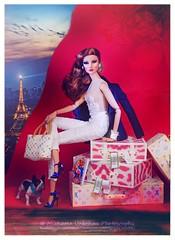 A-Z Challange: E - Eiffel Tower (Michaela Unbehau Photography) Tags: paris mannequin fashion photography model doll dolls fotografie bulldog giselle luis presence mode fashiondoll royalty vuitton michaela diorama enigmatic puppe energetic luggag diefendorf nuface unbehau myphotototheazdollphotographychallengegroupahrefhttpswwwflickrcomgroups2962397n20wwwflickrcomgroups2962397n20aeeiffeltowerisyourdollvisitingparisandtheeiffeltowerorishesportingatiewithminieiffeltow and2avisiblerepresentationoftheeiffeltowerletyourcreativitydecidehowtoincludethecityoflightsmostfamouslandmark