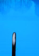 Tool (mikkelfrimerrasmussen) Tags: blue water pool handle chrome railing slot havreholm