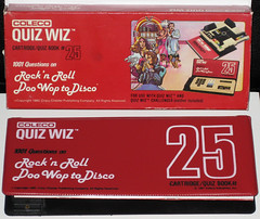 Coleco Quiz Wiz Triva Book #25 (1981) (WishItWas1984) Tags: game rock vintage toy disco book retro collection 25 80s rockroll roll collectible rocknroll 1980 1980s doowop trivia cartridge coleco quizwiz doowoptodisco