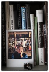 Photography Bookcase (Garry Corbett) Tags: camera slr photography postcard books author npg nationalportraitgallery alanbennett minicamera photographybooks bluejazzbuddha nikond750 cgarrycorbett2016