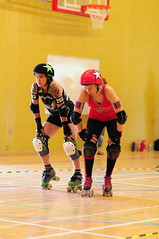 Ready (sk8geek) Tags: rollerderby skaters 13 203 jammers chadtheimpaler claudapart