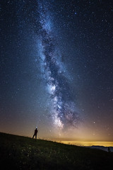 Watching the milky way (thorsten_fr) Tags: night stars milkyway milchstrase