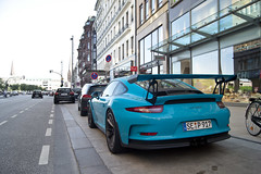 Turquoise (ExoticsofGermany) Tags: german supercar audi r8 v10 plus rs6 avant porsche gt3 rs 991 997 supercars car
