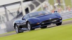 xj220 (edwardrogers128) Tags: uk cars sports games simulation racing silverstone engines forza microsoft british jaguar xj220 photomode turn10 forzatography xboxone forzamotorsport6