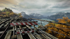 VOEC - 008 (Yousbob - Screenshotgraphy !) Tags: bridge sunset mountain lake game nature water colors contrast forest landscape ethan steam gaming carter concept vanishing beautifull