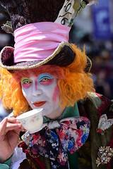 A cup of Tea (grahamfkerr) Tags: girls punk camden punks prettygirls goths cyberdog grahamkerr camdenlife grahamfkerr candemhairfotos grahamkerrphotographer