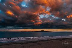 Rangitoto Sunset (Mikey Mack) Tags: sunset newzealand auckland nz rangototo mlpostdeflicker