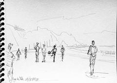 Ile d'Yeu, plage des Vieilles (Croctoo) Tags: croctoo croctoofr crayon croquis plage yeu