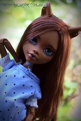 PicsArt_06-29-08.23.36 (Cleo6666) Tags: monster high doll ooak custom mattel repaint clawdeen monsterhigh frightfullytallghouls clawdeen17
