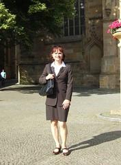 Domberg (Marie-Christine.TV) Tags: lady feminine transvestite secretary elegant businesssuit kostm mariechristine skirtsuit sekretrin