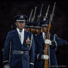 United States Air Force Honor Guard Drill Team (FotoFling Scotland) Tags: castle tattoo scotland edinburgh edinburghcastle event esplanade royaledinburghmilitarytattoo unitedstatesairforcehonourguard