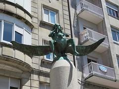 Spain - Galicia - Ourense - Sculpture (JulesFoto) Tags: spain galicia ourense sculpture piper