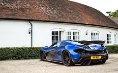 V8 MCL. (Alex Penfold) Tags: mclaren p1 blue red v8 mcl supercars supercar super car cars autos alex penfold 2016 goodwood hotel