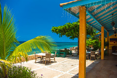 _JAM7421 (Jamil D750) Tags: jamaica smoked marlin sunny ocean beach oceanview view restaurant tropical blue sky waves nikon nikond750 green yellow orange stone