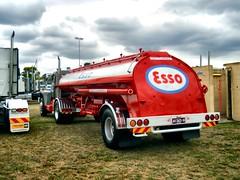 photo by secret squirrel (secret squirrel6) Tags: esso tanker fuel diamondt 2015 maffra craigjohnsontruckphotos