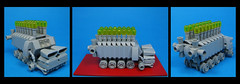 The Smogbuster 3000 (Karf Oohlu) Tags: lego moc microscale vehicle smog smogbuster smogcontrol fightingsmog
