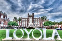Loyola University, New Orleans (BhushanAwate) Tags: loyola university new orleans louisiana cloudy wide angle nikon d5300 sigma 1120mm f28