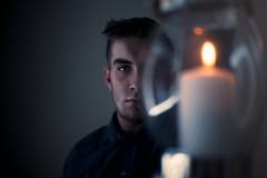 The Light Hunter (Elliot Tratt) Tags: concept conceputal art artistic fine fineart flame fire canon eos 5d 5dmark2 portrait portraits portraiture 2016 cornwall light dark darkness fighting