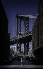 It's just what people do there... (8230This&That) Tags: brooklyn nyc newyorkcity manhattanbridge dumbo empirestatebuilding street ny