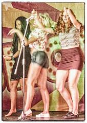 70's dancers (Askjell's Photo) Tags: 70s dance esperides esperidesbeachfamilyhotel faliraki girls greece hellas hotel rhodes rhodos rodos show woman ammoudes egeo askjell