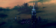 Buildings-Cityscapes-Smoke-l (Aqssa Chaudhry) Tags: dystopia batman suicidesquad buildings nighttime night artist wallpaper coverphoto cover coverpicture coverpic pic purple black haunting feels kiiara smoke smokey beautiful fog smog smoggy foggy urban