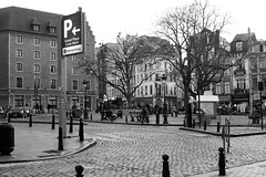 Grote Markt (msiapan) Tags: brussels belgium grote markt grand place square monochrome