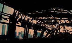WTC 220 (stevensiegel260) Tags: worldtradecenter twintowers abandoned pier wharf ruins newyorkskyline manhattanskyline 1980s