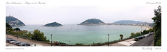 San Sebastian [Espagne] (BerColly) Tags: espagne san sebastian plage beach sea mer ocean panoramique samsung bercolly google flickr