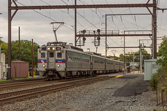 Rush Hour Silverliners (Dan A. Davis) Tags: septa train railroad locomotive passengertrain pennsylvania langhorne