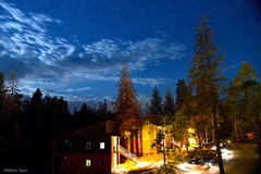 [Awakened at Midnight] (miltonsun) Tags: yosemitenationalpark california nightscene longexposure nightphotography landscape mountains clouds sky nature star