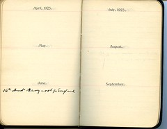 Diary of Robert Wallace p.69 (Community Archives of Belleville & Hastings County) Tags: 1880s 1890s 1900s 1910s 1920s diaries homechildren
