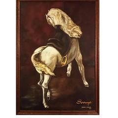 Mi homenaje a ese animal tan noble como es el caballo (valeriaserruya) Tags: diadelcaballo caballo equino arte art kunst konst artesvisuales artesvisuais visualarts delacroix pintura peinture pittura