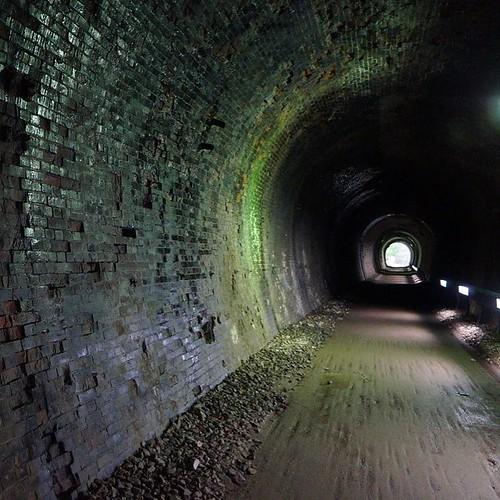 隧道が好き。@アプトの道 #tunnel #トンネル #隧道 #アプトの道