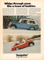1968 Jeep Jeepster Advertisement Time Magazine December 8 1967 (SenseiAlan) Tags: 1968 jeep jeepster advertisement time magazine december 8 1967