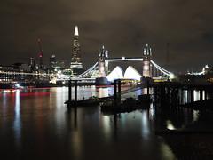 Live Composite @ Wapping (L'Oranger11) Tags: bridge london tower shard